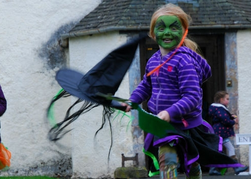 Celebrating Halloween in Scotland