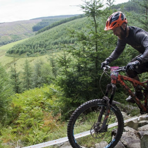 Mountainbiking in the Tweed Valley