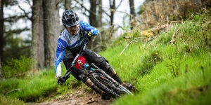 Mountain Biking At The Golfie And Innerleithen In The Tweed Valley