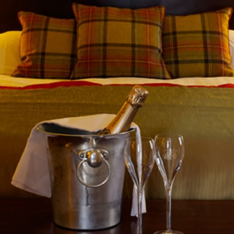 Hotel Room Scottish Borders Order A Champagne Treat For That Special Occasion
