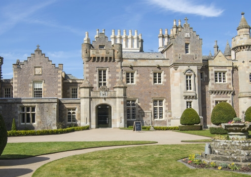 Abbotsford house near Melrose in the Scottish Borders