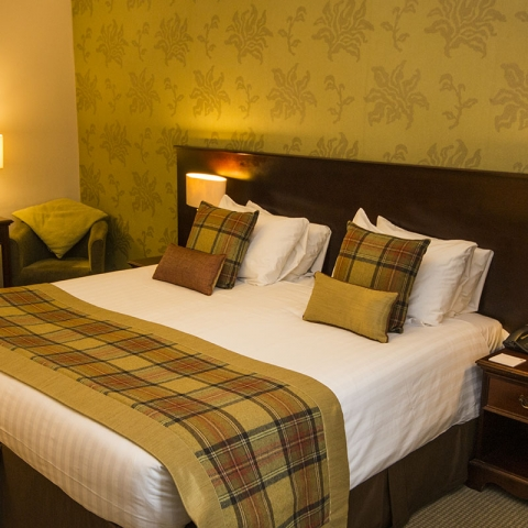 Double Room in Tontine Hotel in Peebles, Scottish Borders