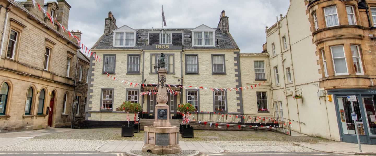 Tontine Hotel In The Heart Of Peebles